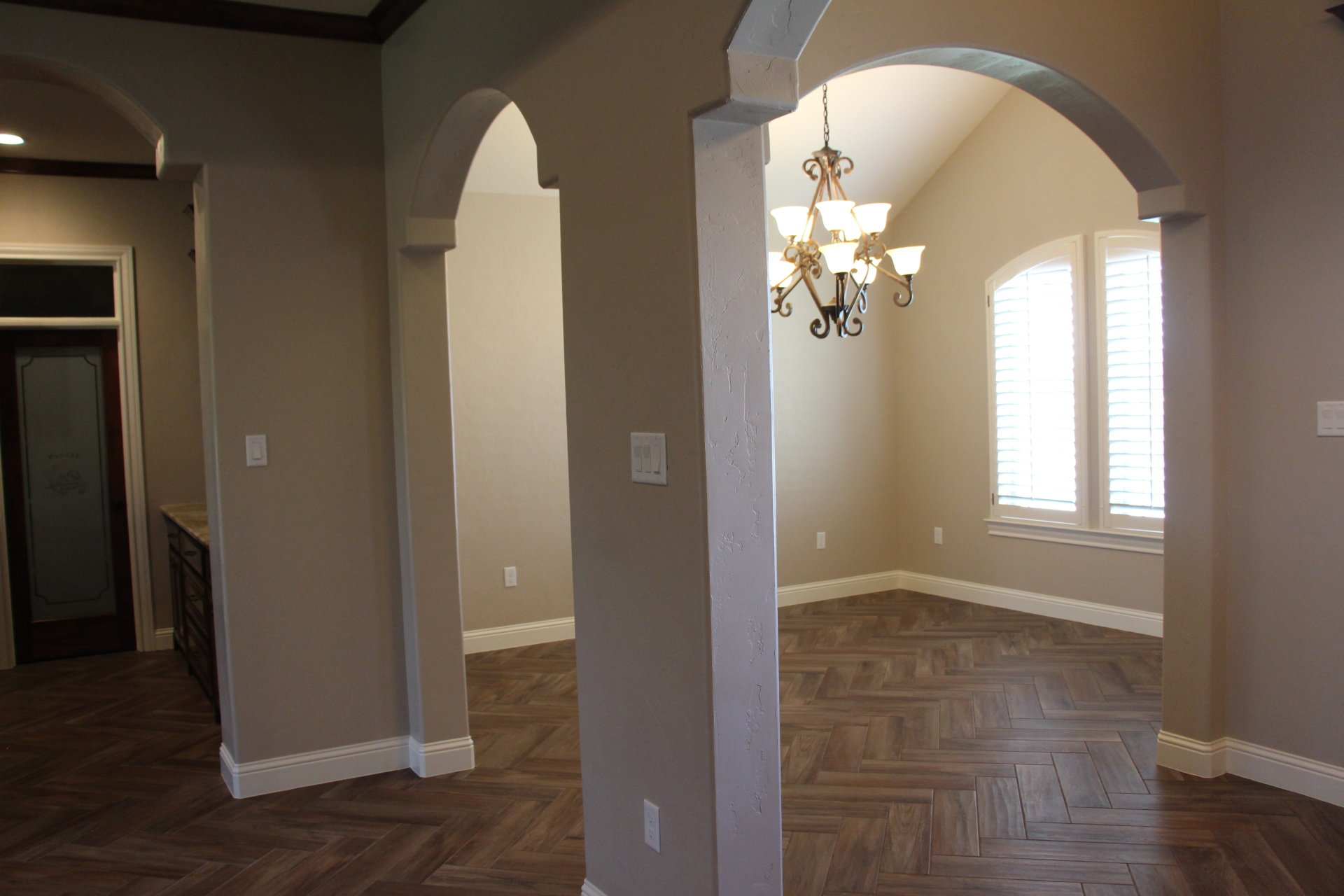 Large Dining Room Area